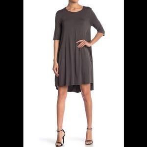 Philosophy Apparel Elbow Sleeve Knit Swing Dress